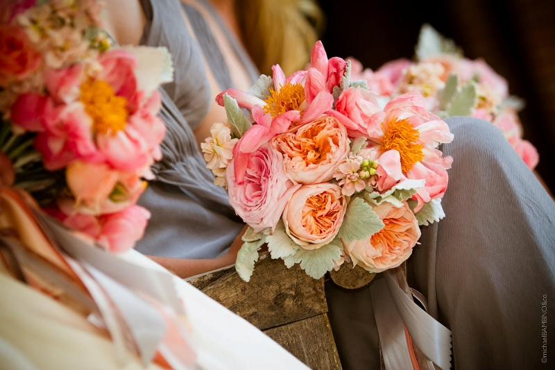 Peterloon Wedding Bridal and Bridesmaid Bouquets