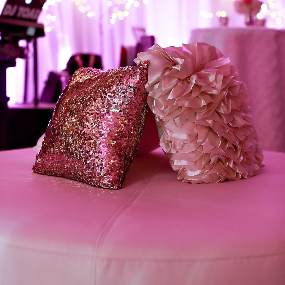 Sequin & Ruffle Pillows