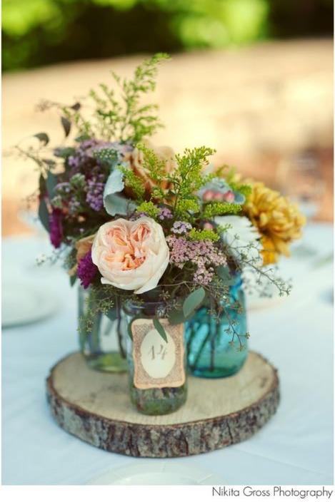 Mason Jar Centerpiece Courtenay Lambert Florals Courtenaylambert Cincinnati