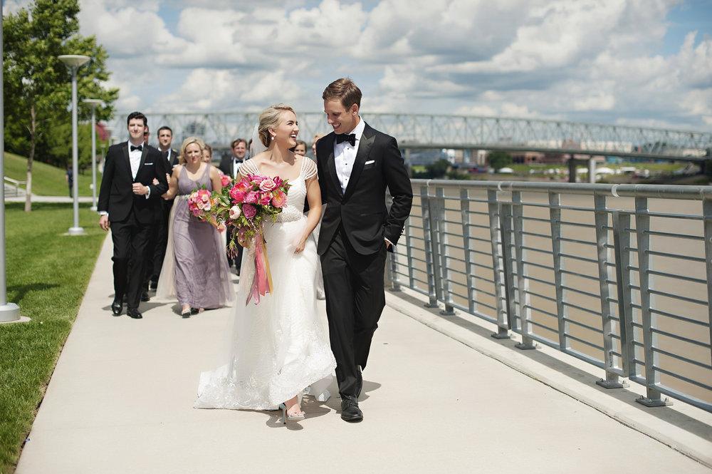 Wedding Party shots in Cincinnati