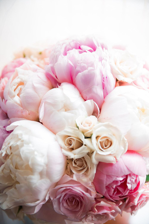 Vibrant Pink Bridal Bouquet