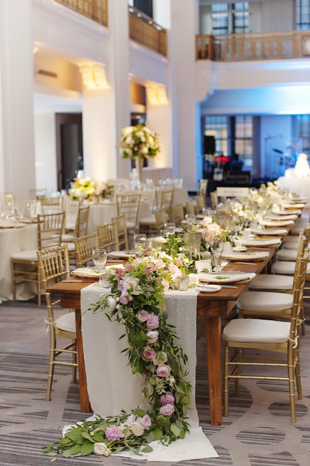 The Renaisssance Garden Theme Wedding