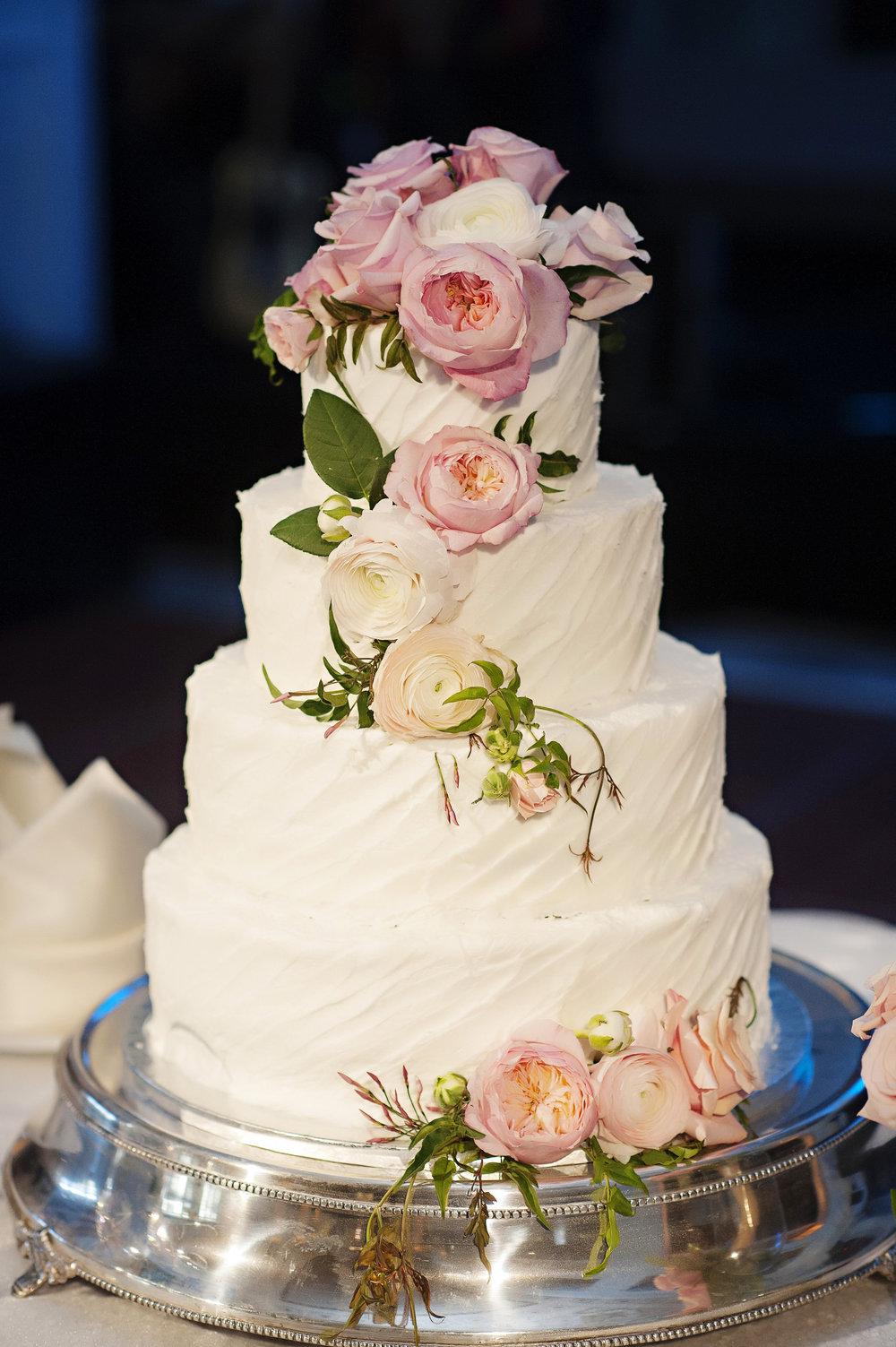 Garden Themed Wedding Cake at The Renaissance