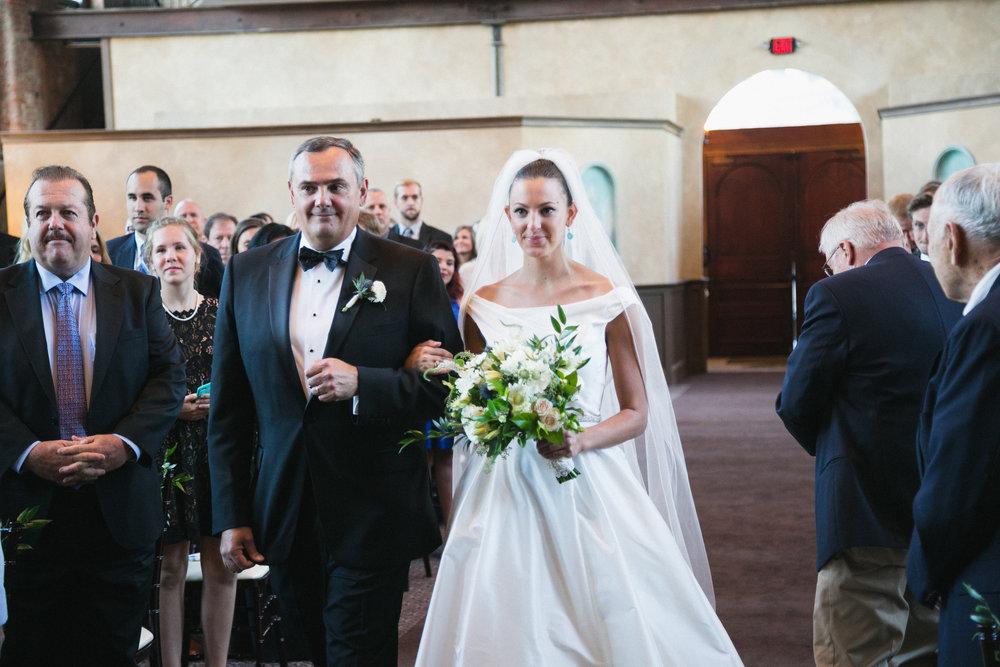 Courtenay Lambert Florals and Event Design Wedding at the Monastery Event Center Cincinnati OH
