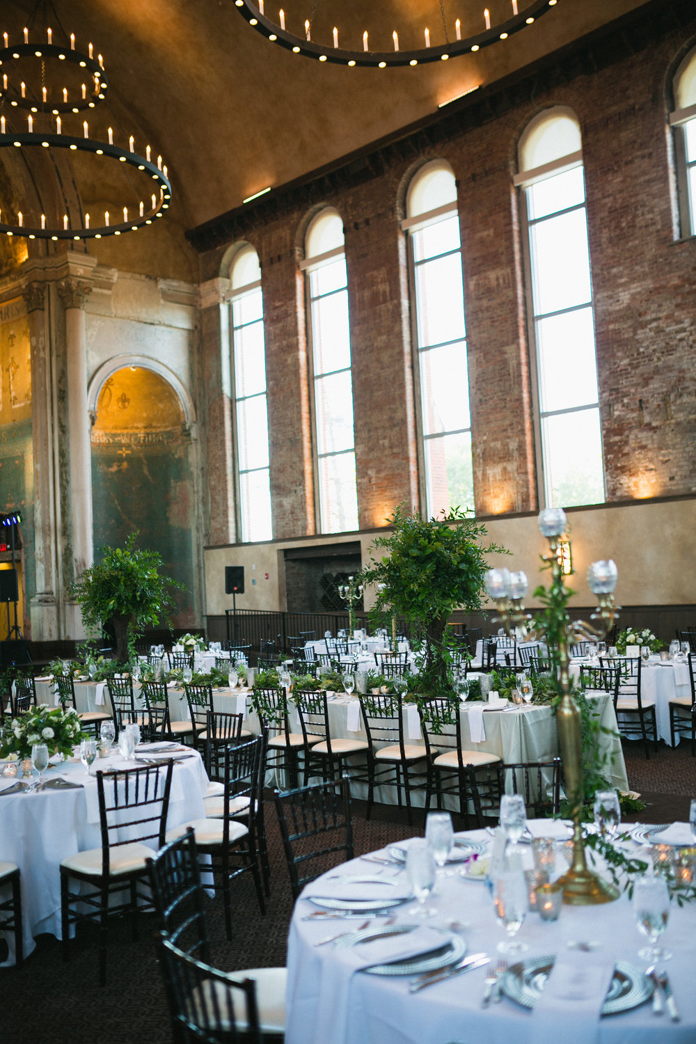 Courtenay Lambert Florals and Event Design Wedding at the Monastery Event Center Cincinnati OH