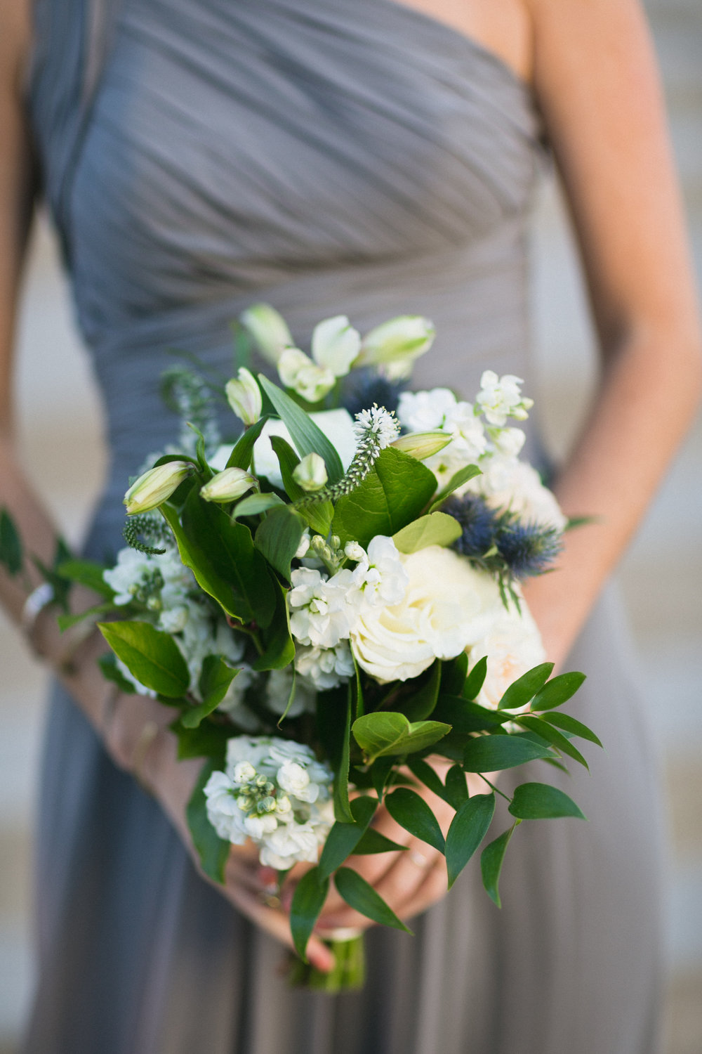 Bridesmaid Bouquets at The Monastery