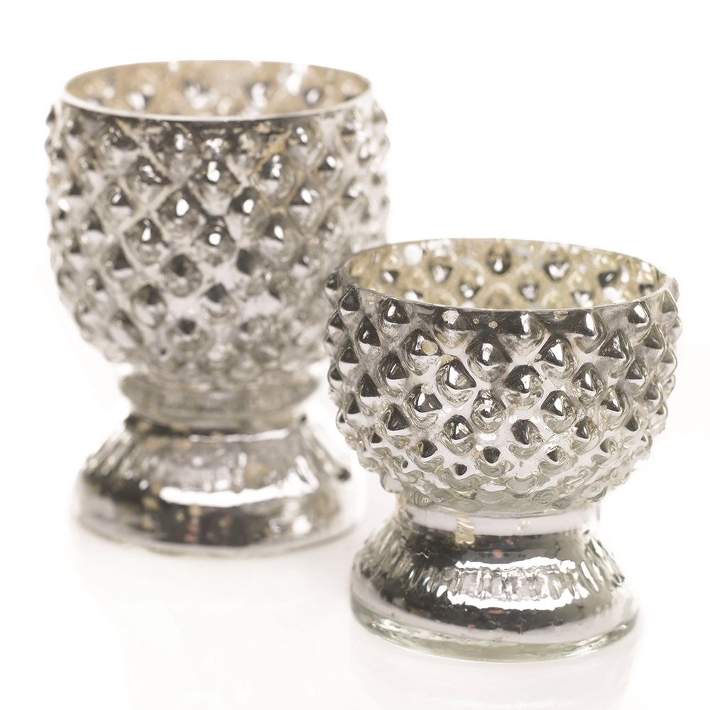 Gracie Tabloid Silver Votive