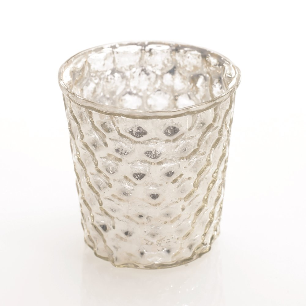 Gracie Dimple Silver Votive