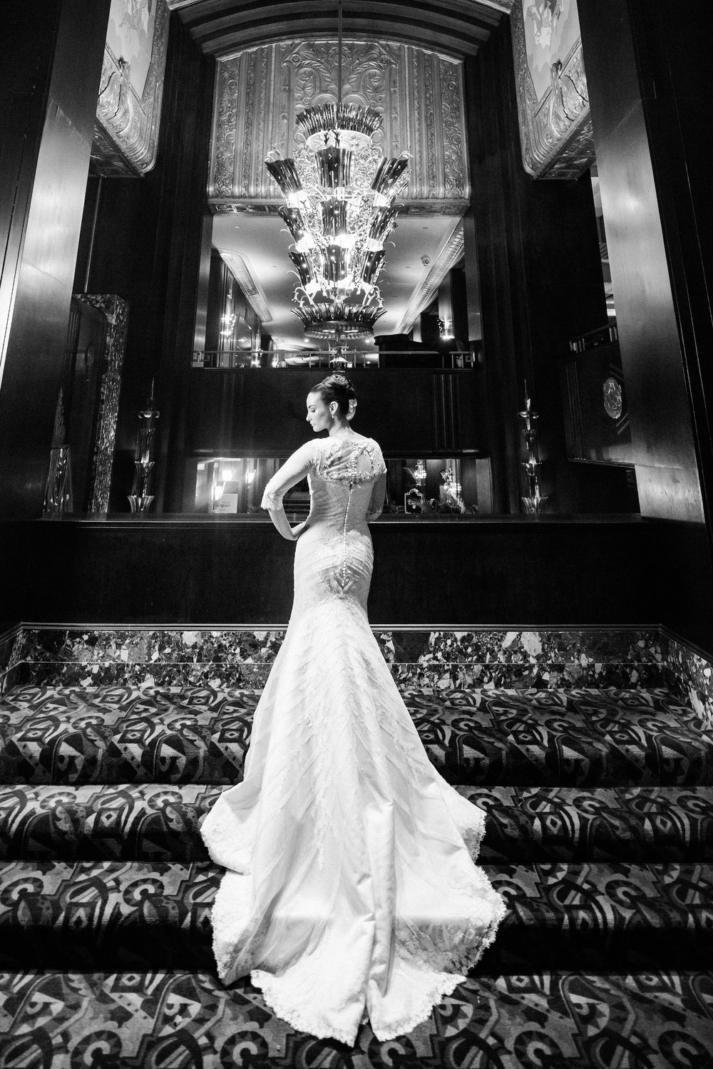 The Hilton Netherland Plaza Hotel Bride Cincinnati, Oh
