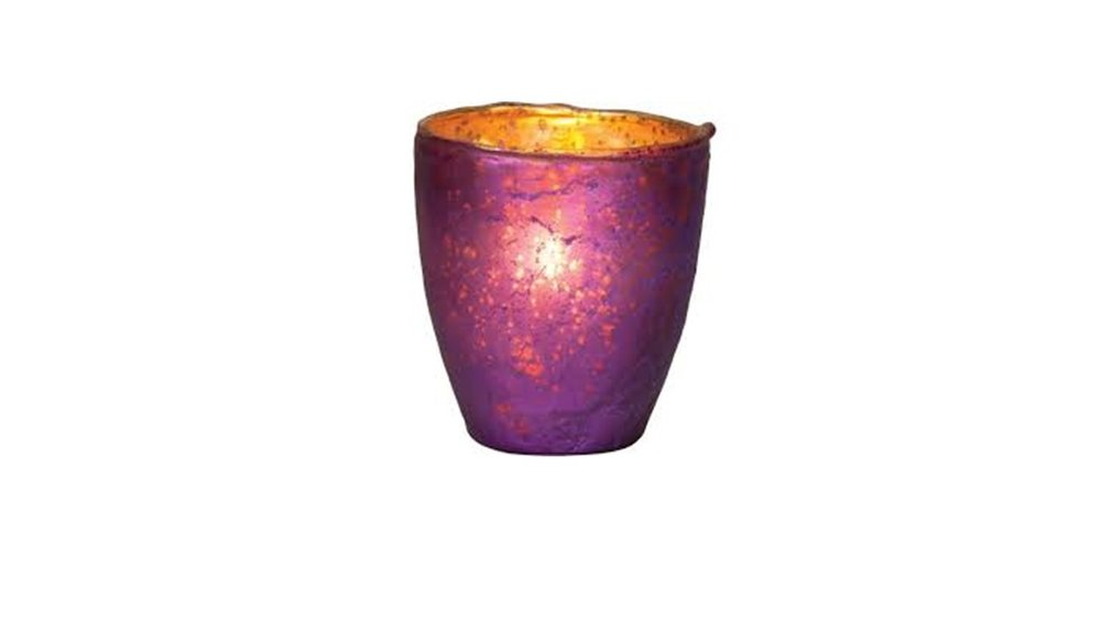 Purple Ebe Votive