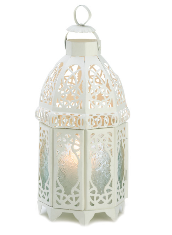 White Lattice Latern