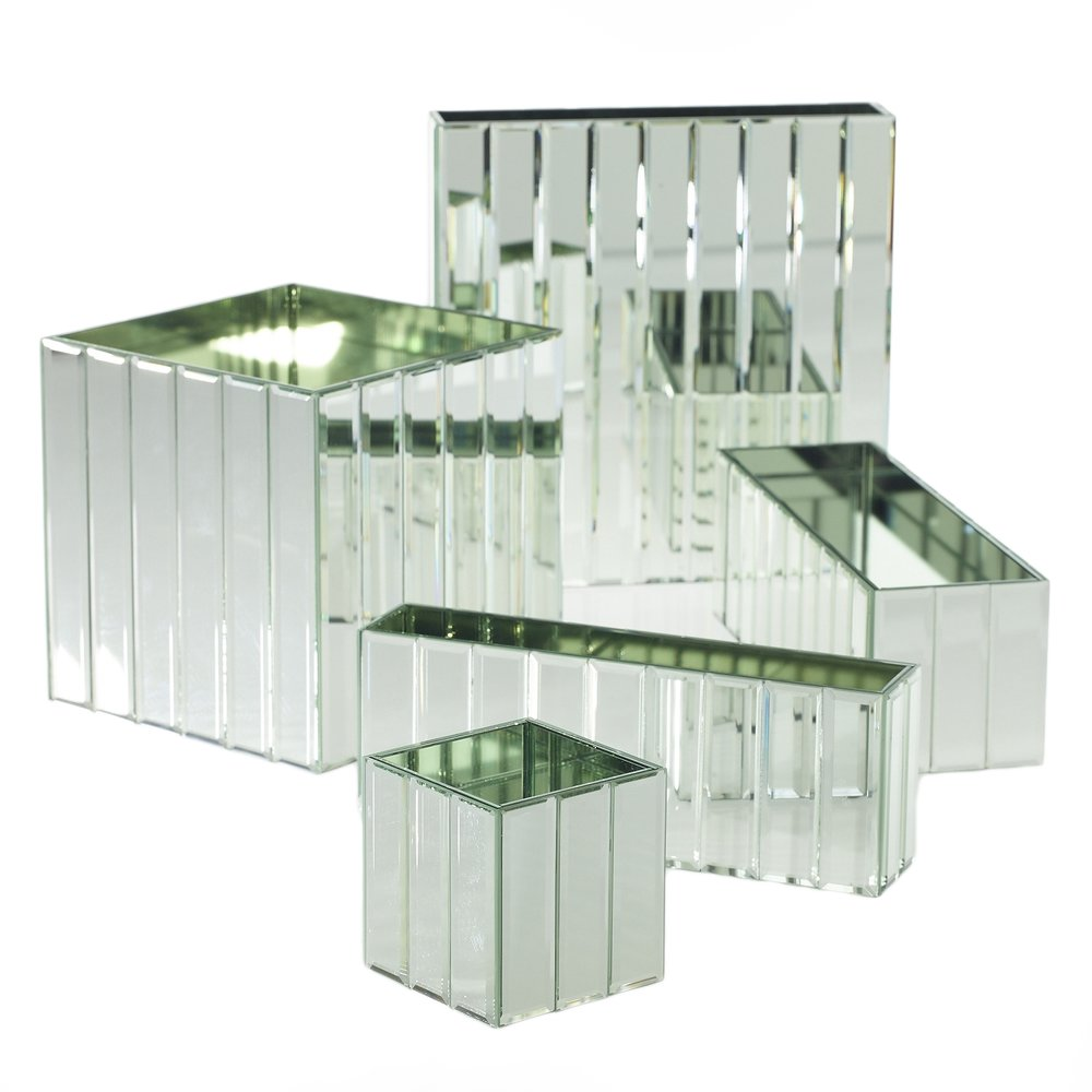 Dazzle Mirror Vase Collection
