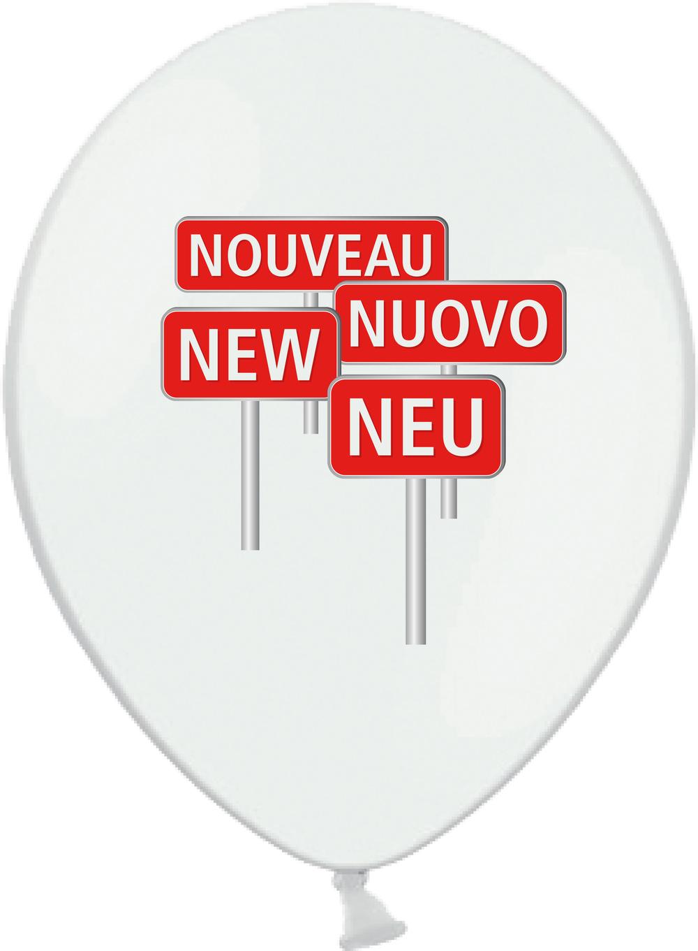 "Motiv ""Neu, New, ..."" 50 Stk. 118.90 CHF 100 Stk. 148.90 CHF 500 Stk. 479.00 CHF 1'000 Stk. 759.00 CHF"