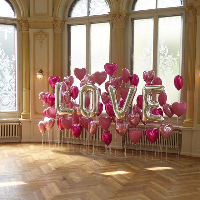 #hochzeit #love #folienballon #deko #ballonboxag