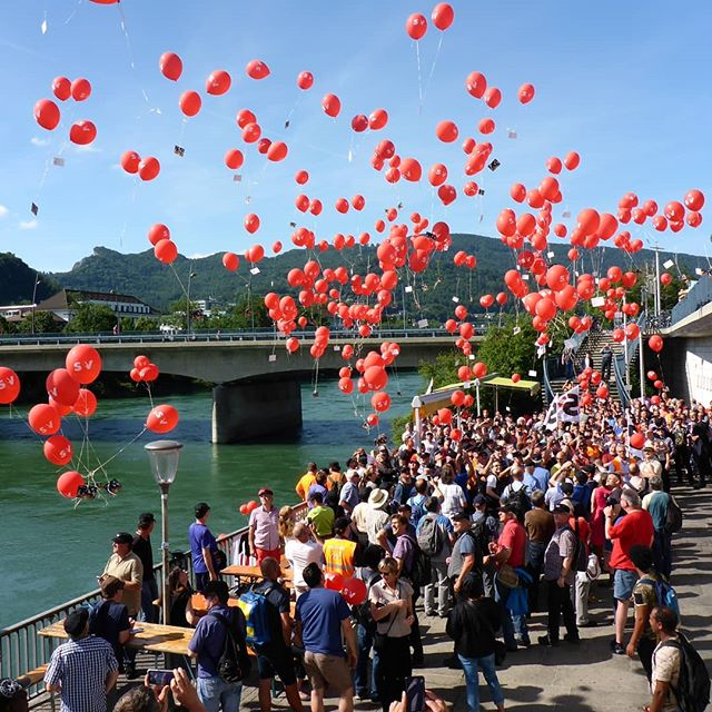 #sev #wettflug #massenstart #rot #ballon #ballonbox #ballonboxag