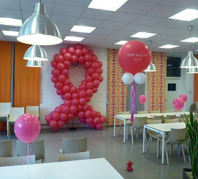 #pinkribbon #pink #rosa #schleife #deko #ballon #ballonbox #ballonboxag