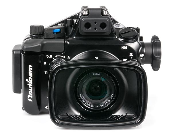 The new NA-LX100 housing for the Panasonic Lumix DMC-LX100 camera.