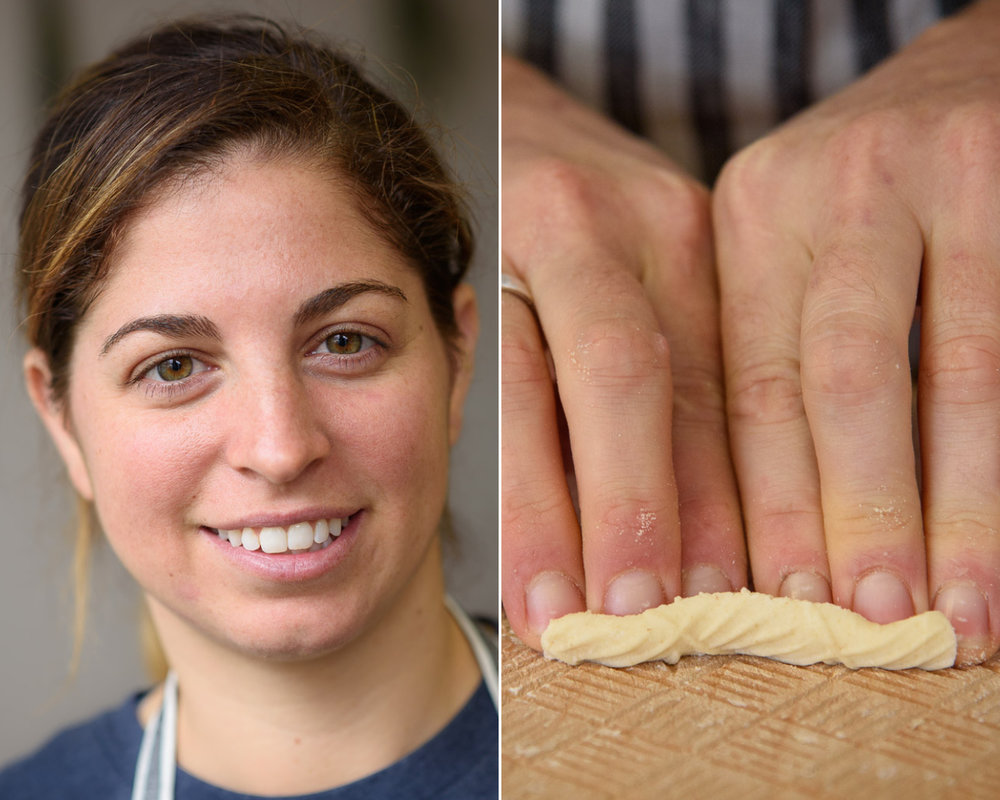 Danielle Glantz, left, founder of Pastaio via Corta (Photograph by Shawn Henry)