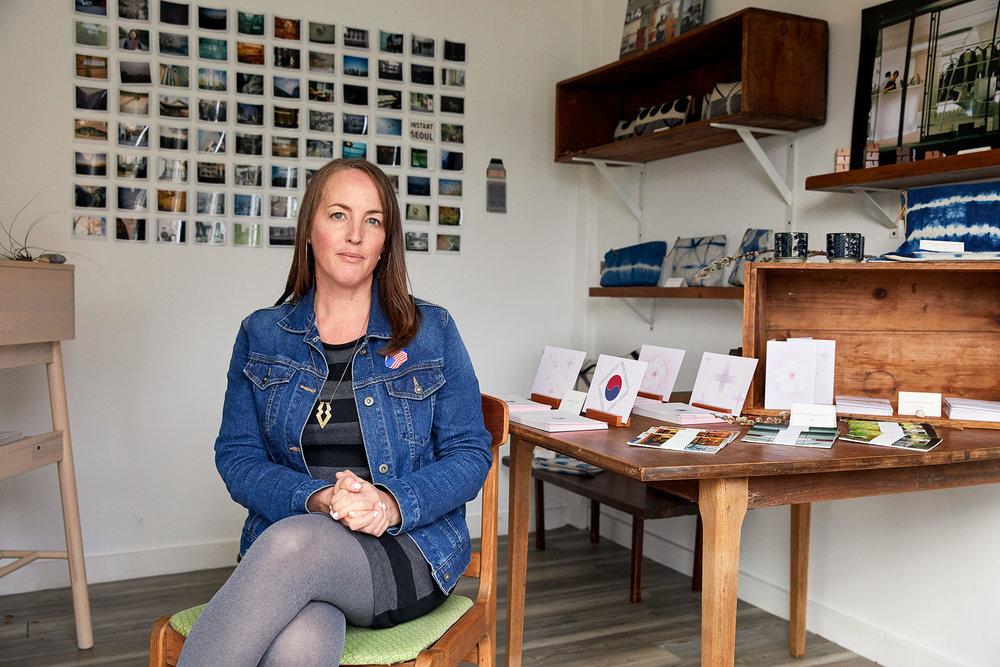 Kaja owner Stephanie Cornell. (Photograph by Jonathan Kozowyk)