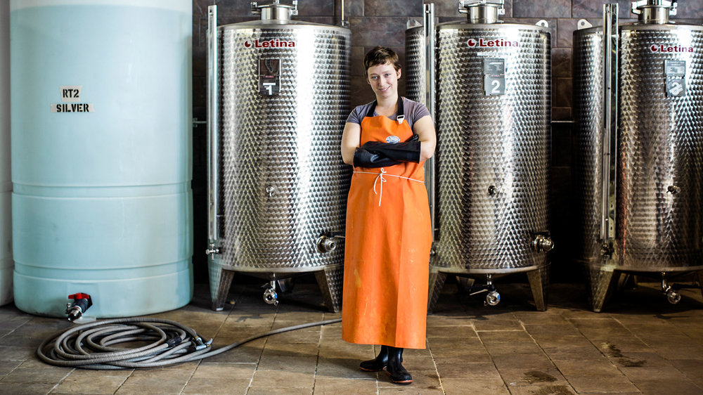 Maggie Campbell, head distiller at Privateer Rum (Photo courtesy Privateer)