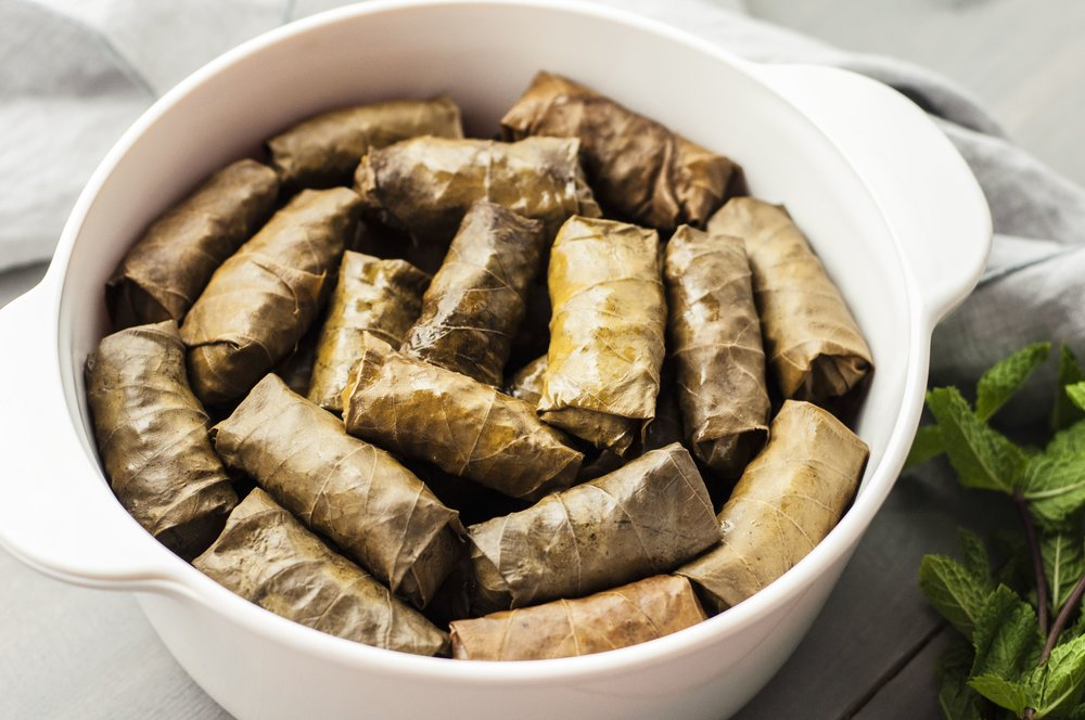 Jackie Ganim DeFalco's Stuffed Grape Leaves