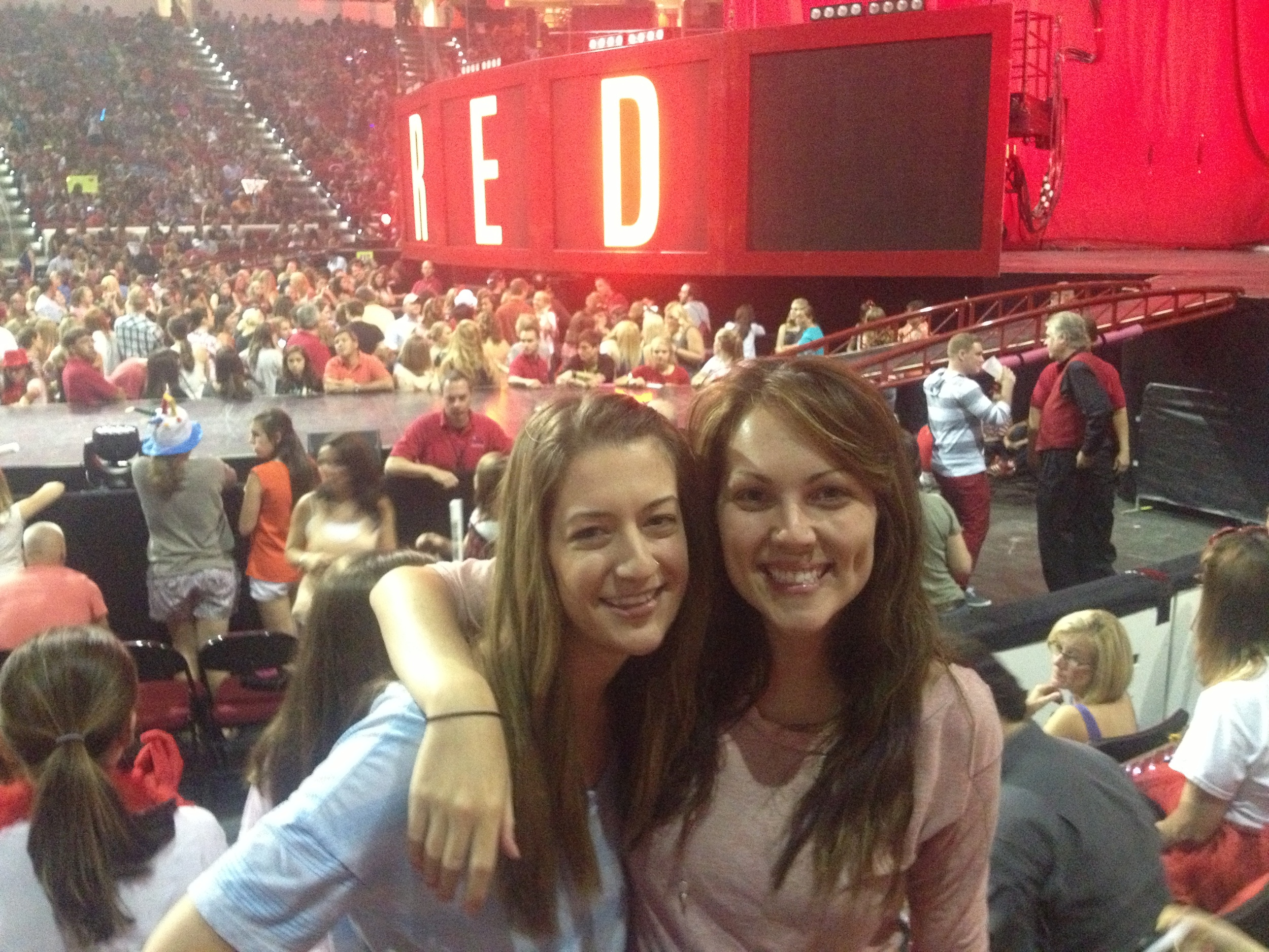 Jolly and I at the Taylor Swift concert!