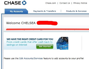 SUCK IT CHASE STUDENT LOAN!!