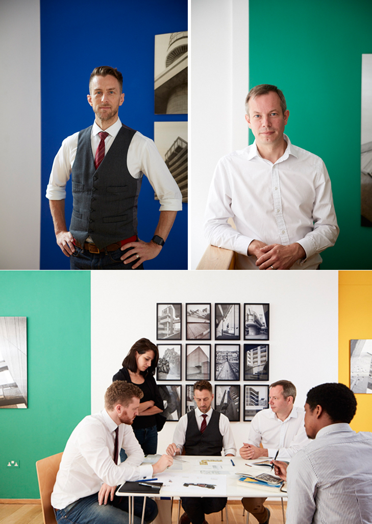 Top Left: Jason Slocombe   Top Right: Jonathan Goode   Bottom: Le Lay Architects