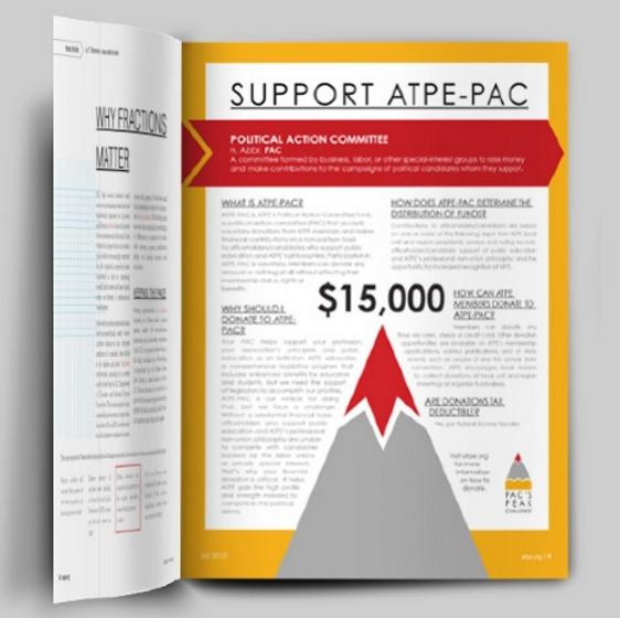 ATPE Magazine  //  Design