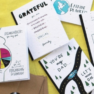 Thoughtful Human card designs