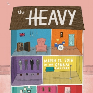 The Heavy poster design
