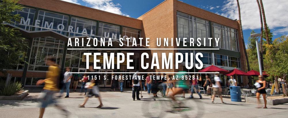 Tempe Campus Header