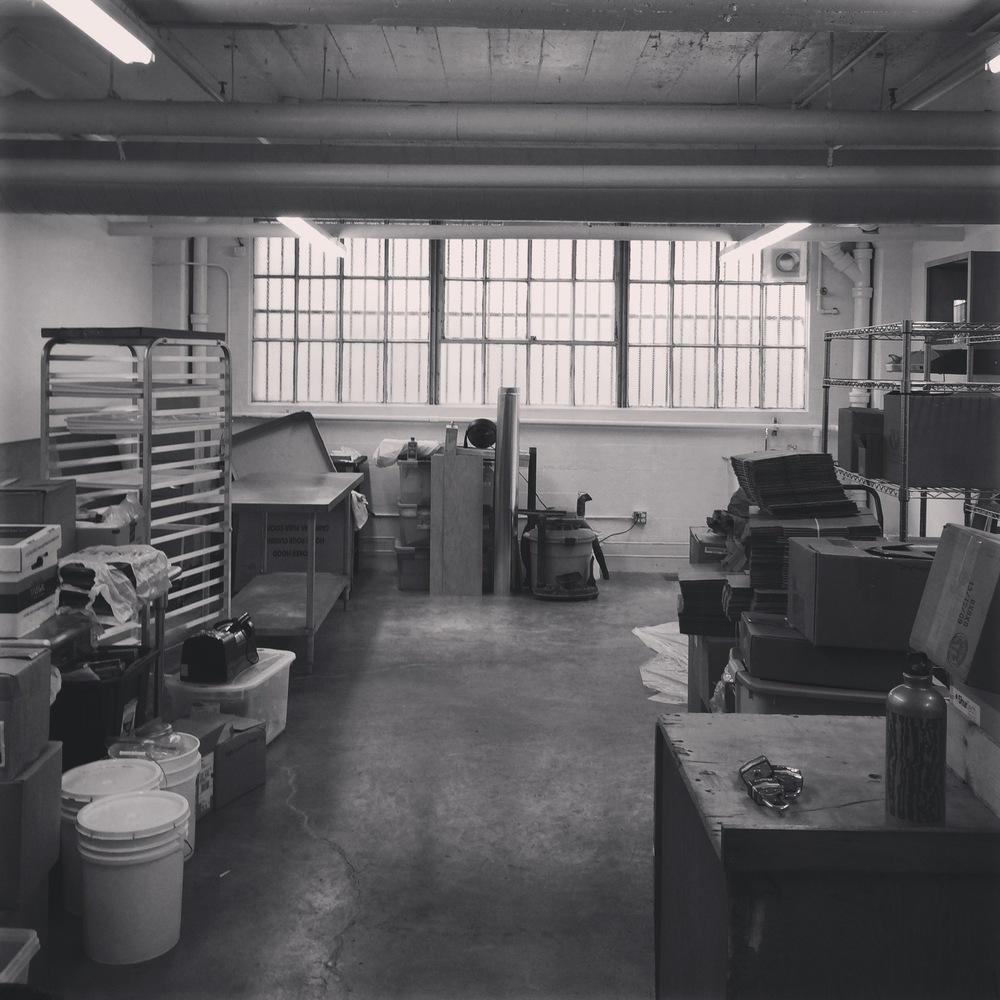 Etta and Billie's New workspace
