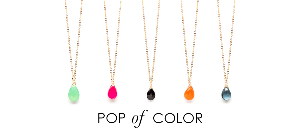 Pop of Color - Find Yours