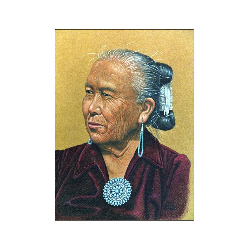 Navajo Jeweler - Original Sold