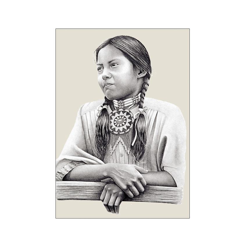 Pow Wow Girl - Original Sold