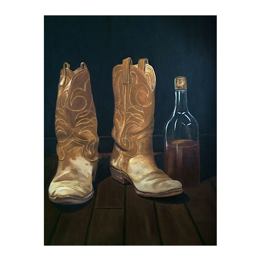 """Ray's Boots and Booze""  -  Available"