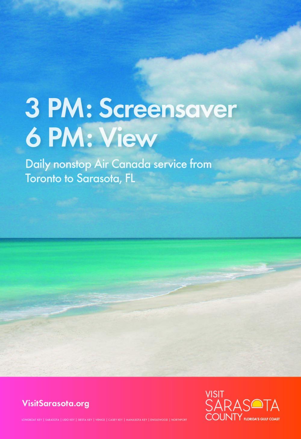 Visit Sarasota County Toronto Airport Diorama