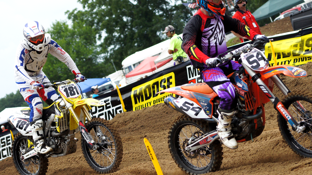 AMA MX Pro National Races 2013  Redbud, MI.