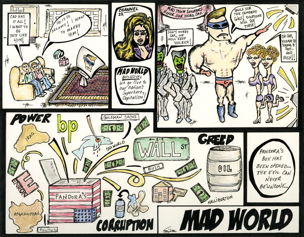 mad world comic