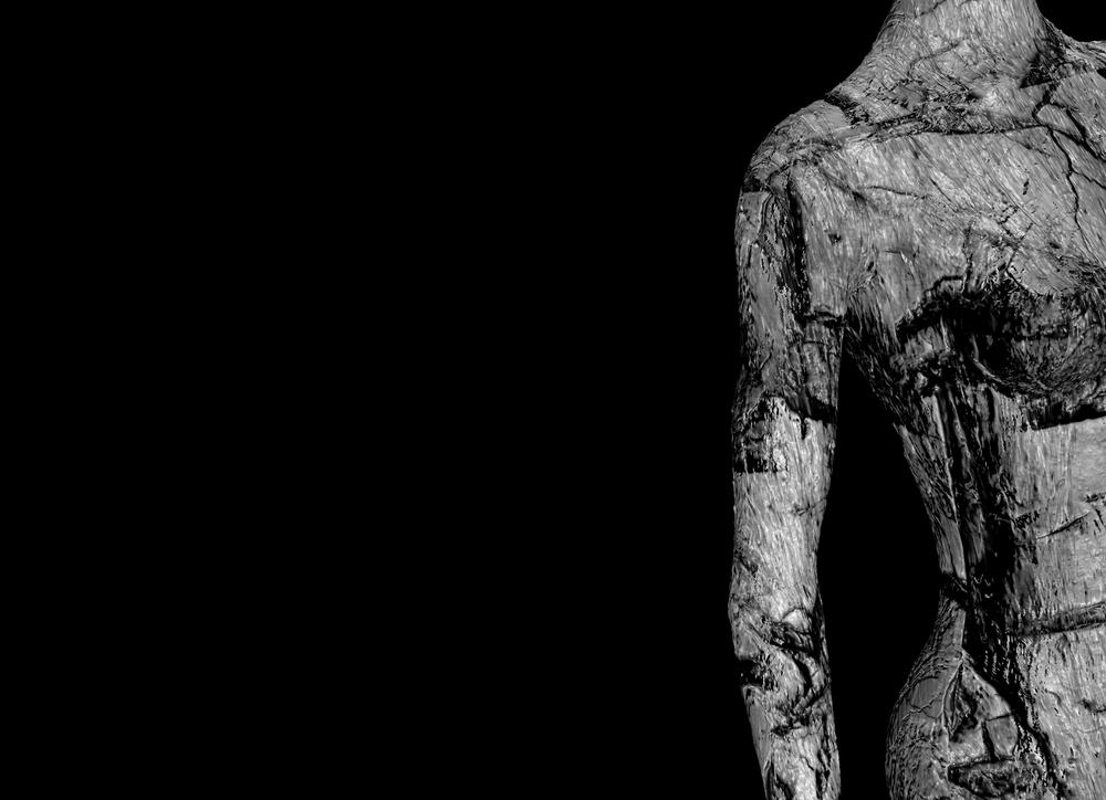 Frankenstein skin texture in Cinema 4D