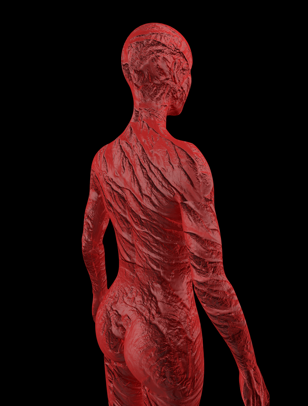 Freddy Kruger Skin Texture / Material