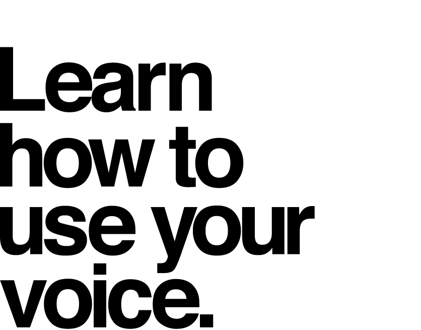 Learn how to use your brand's voice