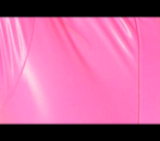 Image of pink rubber to illustrate why web copy is like a catsuit