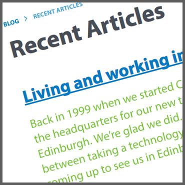 Visit the blog.