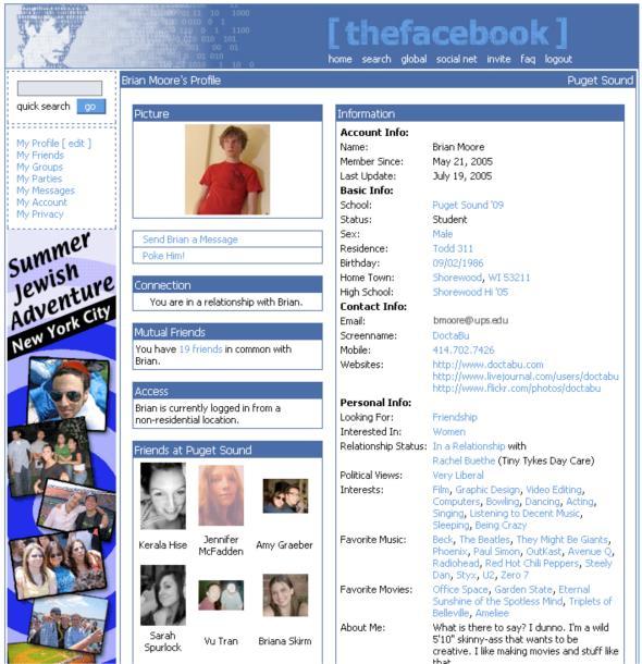 Lembram-se do primeiro Facebook? Que data melhor que um aniversário para recordar o dia do nascimento? Na semana em que o Facebook comemora as bodas de estanho, nada melhor que recordar o aspeto que a rede social tinha na altura do seu lançamento, em 2004. É engraçado ver como uma simples imagem revela tanto sobre a evolução do web design e dos nossos hábitos de utilização da internet no últimos 10 anos… Vocês chegaram a conhecer o primeiro Facebook? Se não chegaram, conheçam-no agora na slate. Maura Bouça, UX Designer