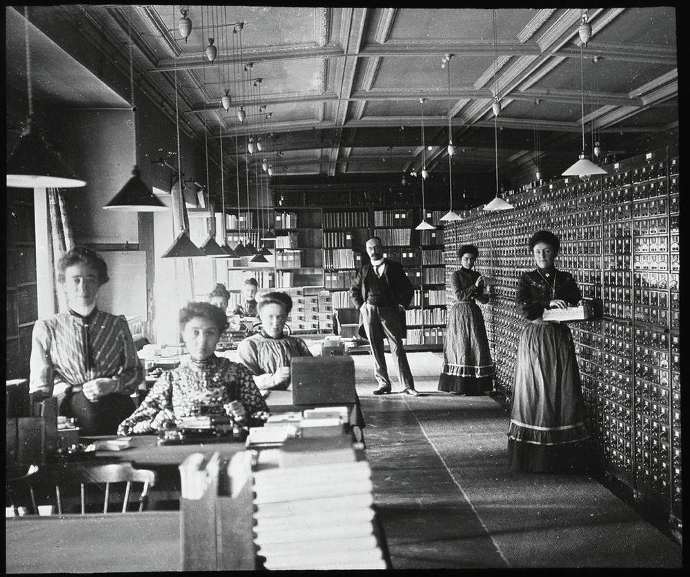 O Repertório Bibliográfico Universal - em torno de 1900
