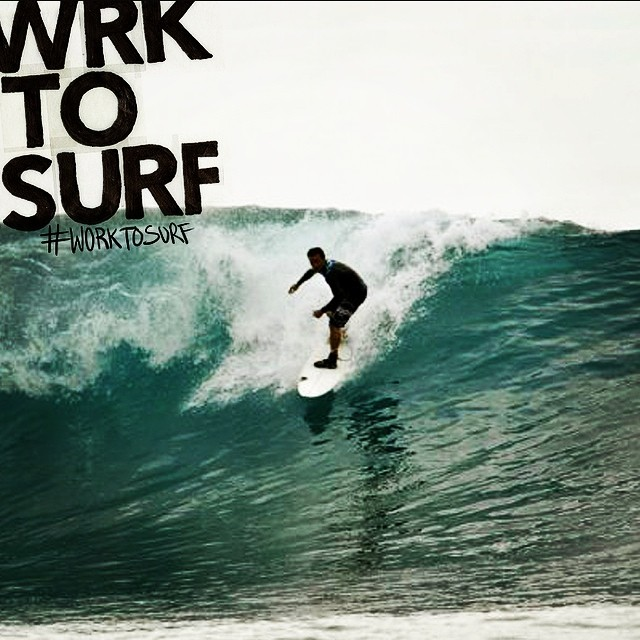 Miguel Santana, businessman from Portugal, dropping tall in Bali. #worktosurf