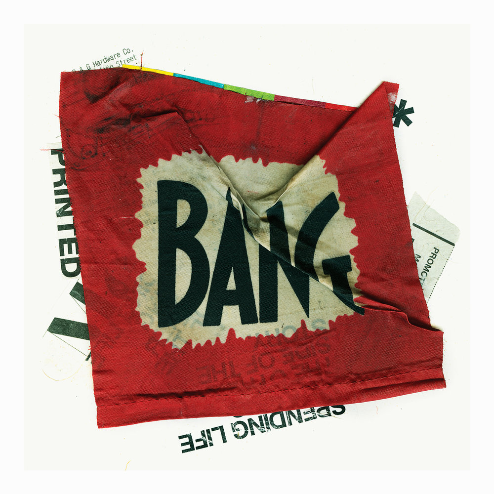 BANG  |  40 X 40 IN  |  ARCHIVAL PIGMENT PRINT ON COTTON PAPER  HAND FINISHED |  EDITION OF 3
