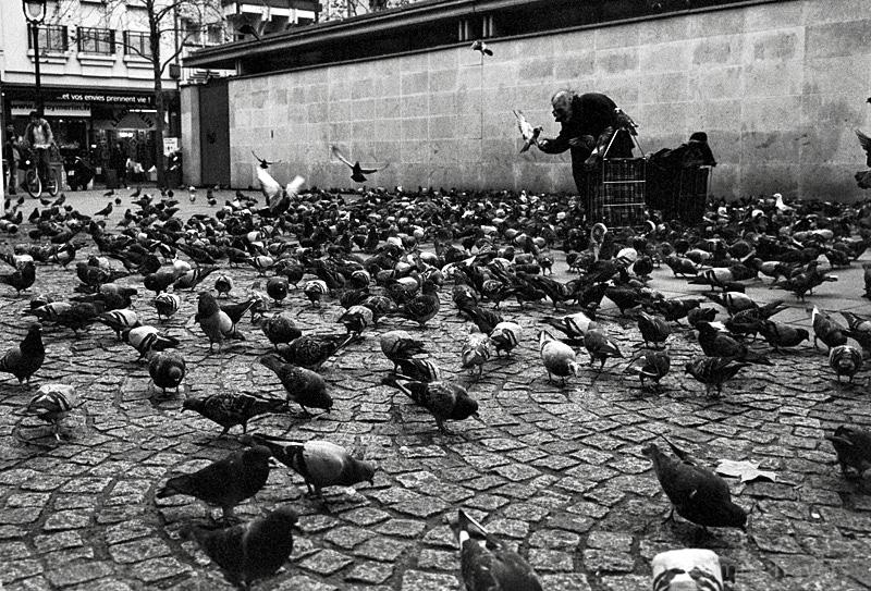Outside the Pompidou Paris.